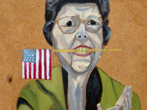 She was a Staunch Republican to the end (J. M. Otera)